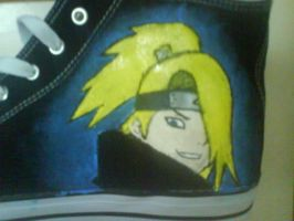 akatsuki shoes, deidara by petmonkey0