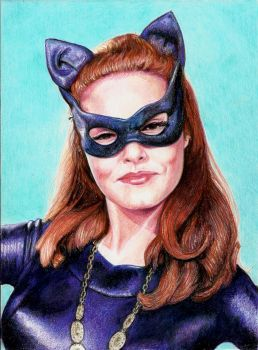 Julie Newmar by Pevansy