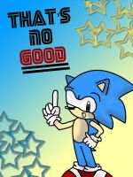 1 HOUR SONIC: NO GOOD by soulalchemist002