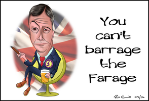 Nigel Farage by paulcockrell