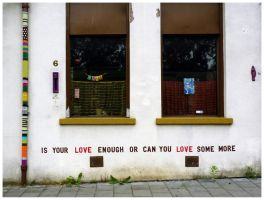 Is your love enough? by goudlokje