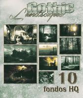 # 10 Gothic Landscapes by DANIMONSTER by DaniMonsterEditions