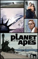 'Planet of the apes' by pichulin