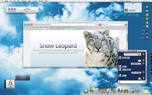 Snow Leopard is arrived by ZQW-munmun