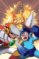 Mega Man 10 Cover by herms85
