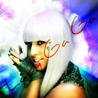 LADY GAGA ALBUM COVER by taxicabofdoom
