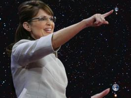 SARAH PALIN'S ABOUT TO CRUSH THE ENTIRE WORLD by darthbriboy