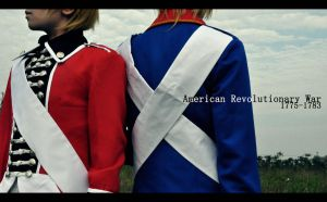 Axis Powers Hetalia : Revolutionary War by Ray-DDDDD