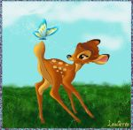 Bambi in the nature by Laurine-Tellier