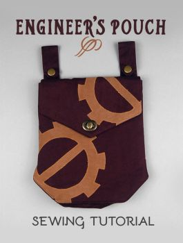 Sewing Tutorial - Engineer's Pouch by SewDesuNe
