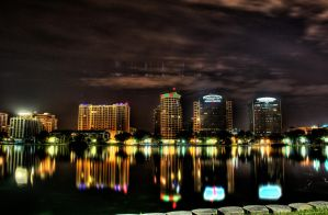 Cityscape - Orlando by thaproducer