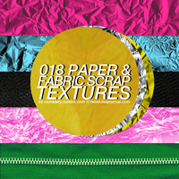 18 Paper and Fabric Textures by rebelatlj