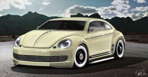 VW Beetle 2011 by LadyDeuce