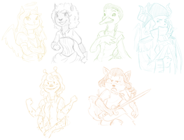 Anthro Petpets by surfersquid