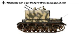 Flakpanzer IV Mobelwagen by nicksikh