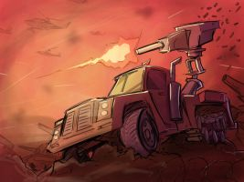 War Truck by Sodano
