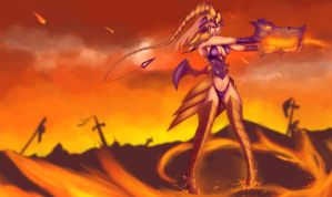::LoL:: Shyvana by Neiths