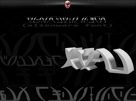 Alienware Font by Naeki-Design