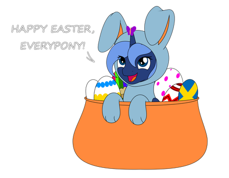 Happy Easter, Everypony! 2017 by ArdonSword