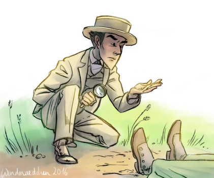 Boater Holmes by Windmaedchen