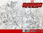Guardians of the Galaxy Sketch Cover Pencils by IsaiahBroussard