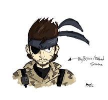 Naked Snake sketch: 010 by ScruffMuhGruff