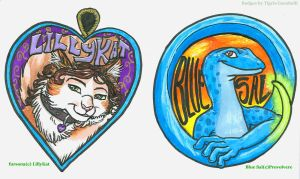More badges by TigrisTheLynx