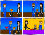 Dan Comics No.34 - Valentine's Day by TheHappySpaceman01