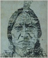 Sitting Bull Type by clayolsonart
