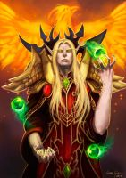 Kael'thas Sunstrider by Eggstirminate