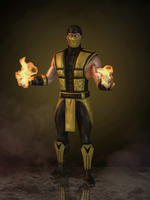 Scorpion (Klassic UMK3) by romero1718