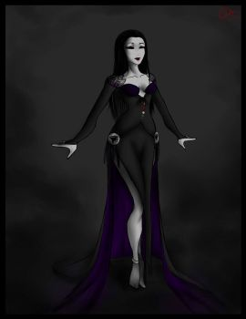 Raven Queen by RenShadowLily