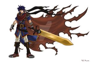 Kingdom Hearts-Ike Colors by arvalis