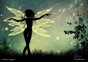 Dance of the Night Fairy by livvydarling
