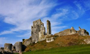 corfe castle by maleica