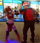 Skarlet - Stryker Cristmas edition by antaale