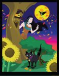 Happy Halloween From Andi, Meeko, Flit and Willow by mrkillzo