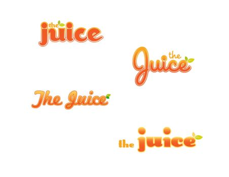 The Juice Logo Concepts by palindromenoise