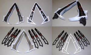 Assassin Knife Belt Symbol by ammnra