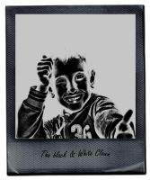 The Black and White Clown by levita