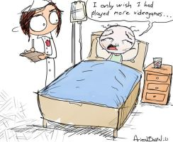 arien brain: death bed regret by therealarien