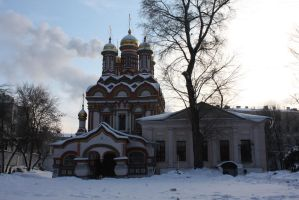 The Church of St. Nicholas the Wonderworker by Yavanna1815
