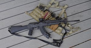 AK and Chest Rig by ComradeSniper