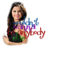 Who Says Selena Gomez PNG by tommz2011