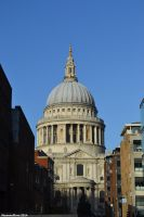St. Paul's Cathedral by Moonwolflove
