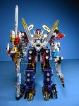 Mini Pla Go Buster Metalic Custome (27) by PlayWithKOR