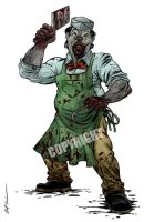 Darkotic Zombie Butcher by Schoonz