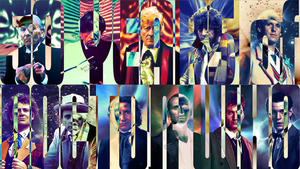 Doctor Who Wallpaper v3 by Elmic-Toboo