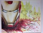 Iron Man Abstract by StudioSkim