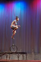 Asian Unicycle by Della-Stock